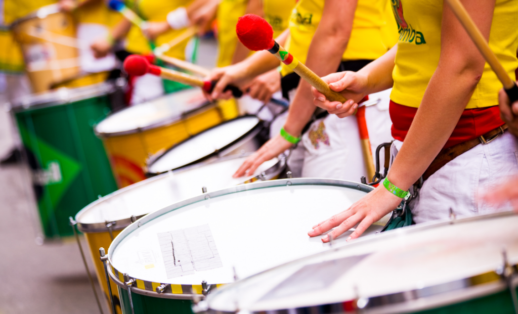 Surdo batucada samba