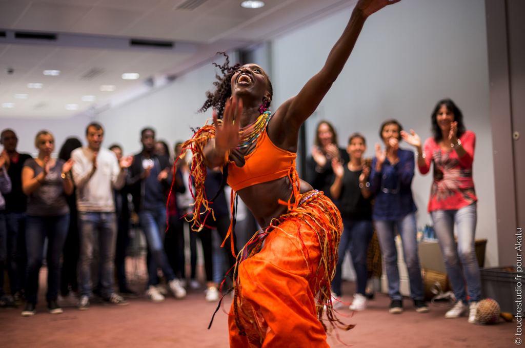 danseuse africaine