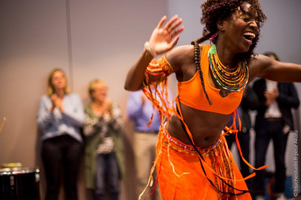danseuse africaine drum coaching
