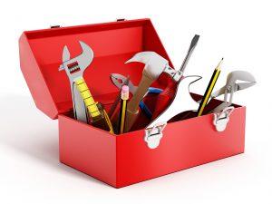 boite à outils rouge